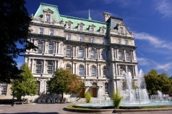Historic Building Montreal City Hall Old Montreal Quebec