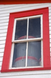 Historic Property Roberts Store Window Woody Point