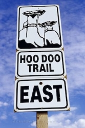 Hoo Doo Trail Sign