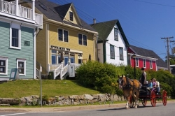 Horse Wagon Tours Historic Lunenburg Nova Scotia