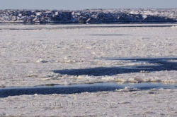 Icy Conditions Hudson Bay Churchill Manitoba