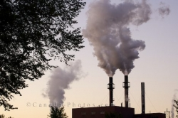 Industrial Plant Pollution Pipes Sault Ste Marie