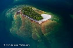 Island Forest Lake Superior Ontario