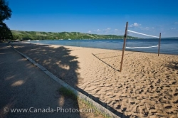 Katepwa Beach Volleyball Qu Appelle Valley Saskatchewan