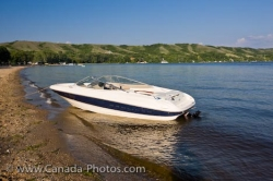 Katepwa Lake Pleasure Boat Qu Appelle Valley Saskatchewan