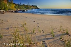 Katherine Cove Footprints Lake Superior Ontario