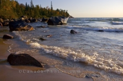 Katherine Cove Shoreline Lake Superior Ontario