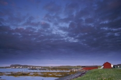 L Anse Aux Meadows Sunset Newfoundland