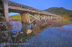 Kennedy Lake Bridge Vancouver Island