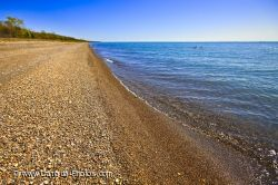 Lake Erie Shore Point Pelee National Park Ontario Canada