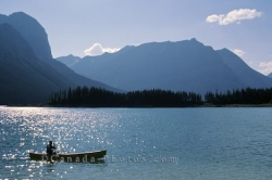 Lake Lougheed Provincial Park Canoe