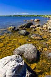 Lake Winnipeg Rocky Shoreline Hecla Island