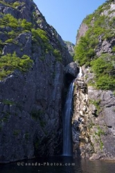 Landscape Waterfall Gros Morne National Park
