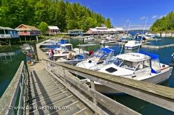 Leisure Boats Telegraph Cove Vancouver Island