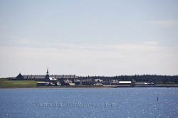 Lighthouse Point Fortress Of Louisbourg Cape Breton Nova Scotia