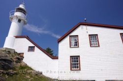 Lobster Cove Lighthouse Heritage Building Newfoundland Canada