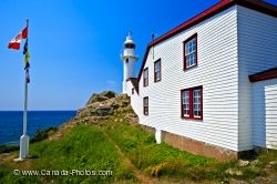 Lobster Cove Lighthouse Newfoundland