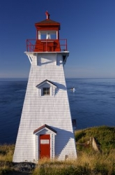 Long Island Boars Head Lighthouse Nova Scotia