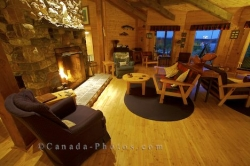 Lounge Area Rifflin Hitch Lodge Southern Labrador