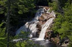 Mary Ann Falls Scenery Cape Breton Highlands National Park