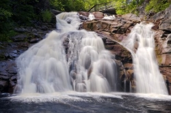 Mary Ann Falls Cape Breton Nova Scotia