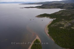 Melville Lake Labrador aerial picture