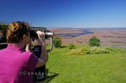 Minas Basin View Nova Scotia Canada