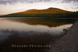Mount Carleton Provincial Park Sunset New Brunswick