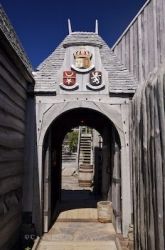 Port Royal National Historic Site Entranceway Nova Scotia