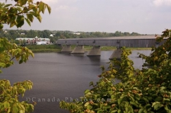 New Brunswick Hartland Covered Bridge Saint John River