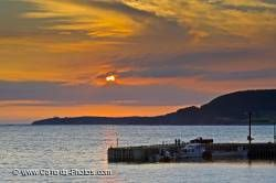 Rocky Harbour Sunset Gros Morne Newfoundland