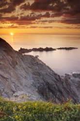 Newfoundland Sunset Horizon Picture