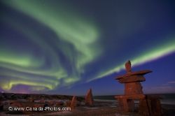 Northern Lights Image Hudson Bay Churchill Manitoba