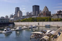 Old Montreal Marina Quebec