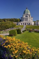 Saint Josephs Oratory Gardens Mount Royal