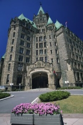 Parliament Building Entrance Ottawa Ontario