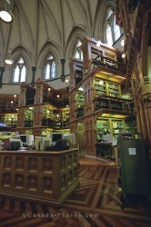 Parliament Building Library Ottawa