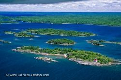 Parry Sound Lake Huron Ontario