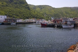 Petty Harbour Fishing Boats Avalon Peninsula Newfoundland