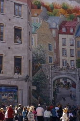 Place Royale Wall Mural Quebec City