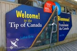 Point Pelee National Park Welcome Sign Leamington Ontario