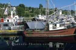 Powell River Harbour British Columbia