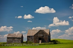 Old Barns In Qu Appelle Valley