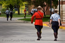 RCMP Academy Officers Regina City Saskatchewan