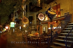 Restaurant Night Life Montreal Quebec