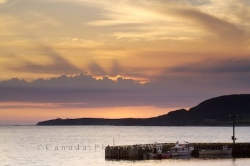 Rocky Harbour Sunset Newfoundland Labrador