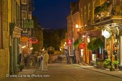 Rue Sous Le Fort Shops Old Quebec