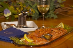 Salmon Fish Gourmet Meal Picture