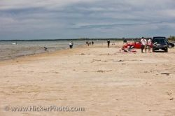 Sauble Beach Outdoor Activities Lake Huron Ontario Canada