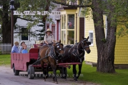 Sherbrooke Village Wagon Ride Nova Scotia